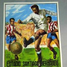 Coleccionismo deportivo: CARTEL FÚTBOL FINAL COPA DEL REY 5 MAYO 1984 ATHLETIC BILBAO - FC BARCELONA SANTIAGO BERNABÉU. Lote 113778692