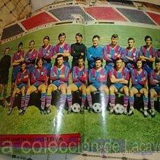 Coleccionismo deportivo: POSTER LEVANTE UNION DEPORTIVA 72-73. Lote 19199604