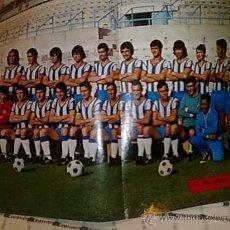 Coleccionismo deportivo: POSTER MALAGA 72-73. Lote 19199669