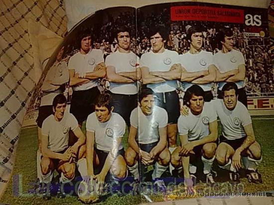 POSTER UNION DEPORTIVA SALAMANCA 72-73 (Coleccionismo Deportivo - Carteles de Fútbol)