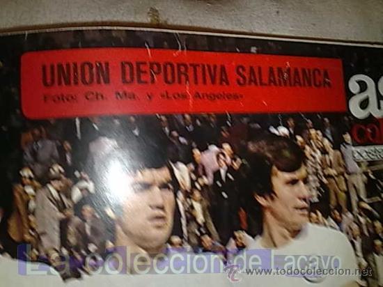 Coleccionismo deportivo: POSTER UNION DEPORTIVA SALAMANCA 72-73 - Foto 2 - 19201651