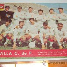 Coleccionismo deportivo: SEVILLA CF: LÁMINA DE LA TEMPORADA 66-67. Lote 19429903