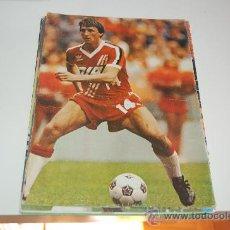 Coleccionismo deportivo: JOHAN CRUYFF: MINIPÓSTER DE 1982. Lote 26990938