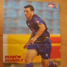 Coleccionismo deportivo: POSTER LEVANTE : RUBEN SUAREZ 2009/10. Lote 26186110