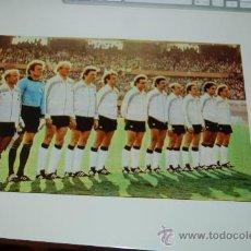 Coleccionismo deportivo: SELECCIÓN DE FÚTBOL DE LA RFA ( ALEMANIA ): MINIPÓSTER DE 1978. Lote 26968696