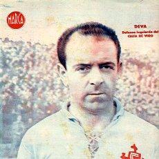 Coleccionismo deportivo: CARTEL FUTBOL ,LAMINA MARCA , DEVA DEL CELTA DE VIGO , MA324. Lote 21092782