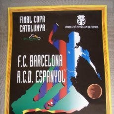 Coleccionismo deportivo: RCD ESPANYOL - FC BARCELONA - CUP 1996 -. Lote 27489707