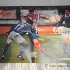 Coleccionismo deportivo: PÓSTER CHRISTIAN VIERI, ATLÉTICO MADRID 1997/98. Lote 23409557