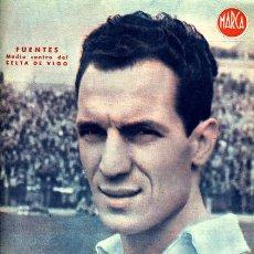 Coleccionismo deportivo: CARTEL FUTBOL ,LAMINA MARCA , CELTA DE VIGO , FUENTES , MA364. Lote 23109559