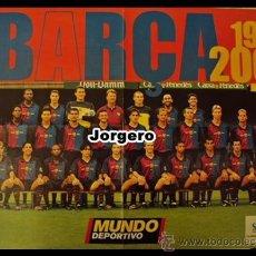 Coleccionismo deportivo: F.C. BARCELONA PLANTILLA 1999-2000. PÓSTER. Lote 24393193