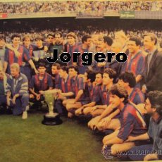 Coleccionismo deportivo: F.C. BARCELONA CAMPEÓN DE LIGA 1990-1991. RECORTE. Lote 24600432