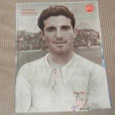 Coleccionismo deportivo: PEPILLO (SEVILLA F C) - LÁMINA DEL DIARIO MARCA. AÑOS 40. 25 X 35 CM. ORIGINAL . Lote 27600623