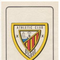 Coleccionismo deportivo: LAMINA POSTER CARTEL AT. DE BILBAO COLECCION SUPER ADHESIVOS FUTBOL EXCLUSIVAS SALCAS ALMENDRALEJO. Lote 25245809