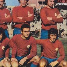 Coleccionismo deportivo: CLUB REAL MURCIA - POSTER TEMPORADA 1975-76 - AS COLOR Nº 241 - PERFECTO.. Lote 27180255