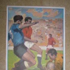 Coleccionismo deportivo: AÑO 1982 - CARTEL FINAL MUNDIAL ESPAÑA 82 - ITALIA - ALEMANIA - ESTADIO SANTIAGO BERNABEU DE MADRID. Lote 105913702