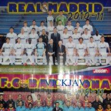 Sammelleidenschaft Sport - POSTER doble REAL MADRID CAMPEON COPA DEL REY 2011 Barça Subcampeón - 26248738