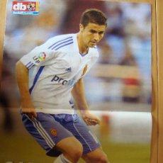 Coleccionismo deportivo: POSTER ZARAGOZA : GABI 2010/11. Lote 26349526