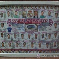 Sammelleidenschaft Sport - Cuadro poster Real Madrid Plantilla 2010 2011 CAMPEON COPA REY 2011 - 26712338