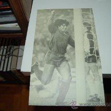 Coleccionismo deportivo: BARÇA: GRAN RECORTE DE DIEGO ARMANDO MARADONA. Lote 28203164