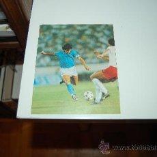 Coleccionismo deportivo: NÁPOLES: RECORTE DE DIEGO ARMANDO MARADONA. 1990. Lote 28301945