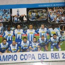 Coleccionismo deportivo: RCD ESPANYOL - CAMPEON COPA 2006-. Lote 28372441