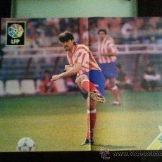 Coleccionismo deportivo: POSTER LIGA 95/96 1995 1996 CAMINERO ATLETICO MADRID. Lote 28662070
