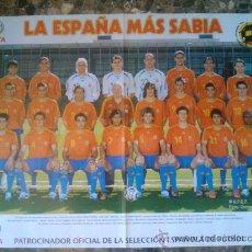 Coleccionismo deportivo: POSTER GIGANTE - SELECCION ESPAÑOLA MUNDIAL ALEMANIA 2006 - ESPAÑA - . Lote 29462409