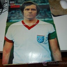 Coleccionismo deportivo: BAYERN DE MUNICH ( MÜNCHEN ): PÓSTER DE BECKENBAUER. 1973. Lote 29643591