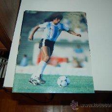 Coleccionismo deportivo: SELECCIÓN DE FÚTBOL DE ARGENTINA: MINIPÓSTER DE DIEGO ARMANDO MARADONA. 1982. Lote 29808873