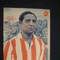 Coleccionismo deportivo: POSTER DIARIO MARCA - MILLAN - DEFENSA DERECHA DEL GRANADA - . Lote 30012833