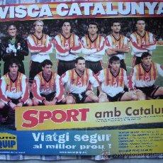 Coleccionismo deportivo: SEL·LECCIÓ DE CATALUNYA - POSTER 70 X 50 CM.-. Lote 30139532
