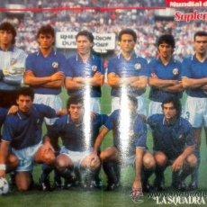 Coleccionismo deportivo: POSTER SELEZIONE MANIFESTO ITALIANO FRANCO BARESI MUNDIAL ITALIA 90. Lote 30311153