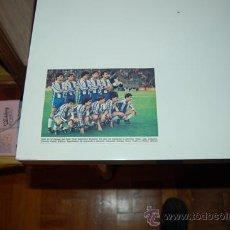 Collectionnisme sportif: RCD. ESPAÑOL: RECORTE DE LA TEMPORADA 1986-87. Lote 30945626