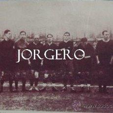 Coleccionismo deportivo: R.UNIÓN CLUB DE IRÚN ALINEACIÓN FINALISTA DE COPA 1921-1922 CONTRA EL BARCELONA. RECORTE. Lote 31260571