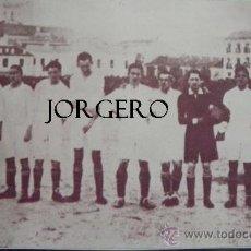 Coleccionismo deportivo: R. MADRID ALINEACIÓN 1919-1920. RECORTE. Lote 31260586