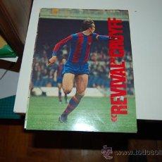 Coleccionismo deportivo: BARÇA: MINIPÓSTER DE JOHAN CRUYFF. Lote 31299419