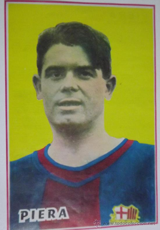 VICENTE PIERA F.C. BARCELONA. MINI-PÓSTER (Coleccionismo Deportivo - Carteles de Fútbol)
