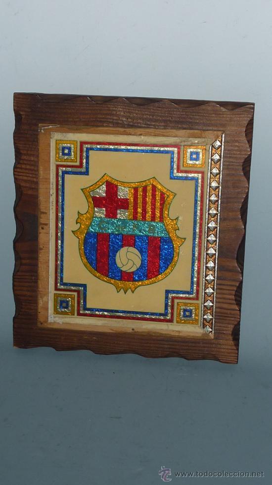ANTIGUO PLAFON DEL FUTBOL CLUB BARCELONA. BARÇA. FCB. (Coleccionismo Deportivo - Carteles de Fútbol)