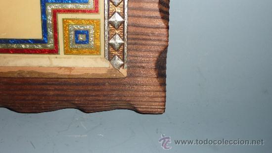 Coleccionismo deportivo: Antiguo plafon del Futbol Club Barcelona. barça. FCB. - Foto 5 - 31406057