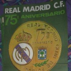 Coleccionismo deportivo: CARTEL ANTIGUO DE FUTBOL REAL MADRID SALAMANCA LIGA AÑO 1977 ORIGINAL DE EPOCA. Lote 31387610
