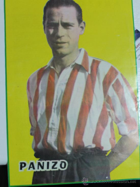 JOSÉ LUIS LÓPEZ PANIZO ATH. BILBAO. MINI-PÓSTER (Coleccionismo Deportivo - Carteles de Fútbol)