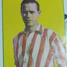 Coleccionismo deportivo: JOSÉ LUIS LÓPEZ PANIZO ATH. BILBAO. MINI-PÓSTER. Lote 31422220