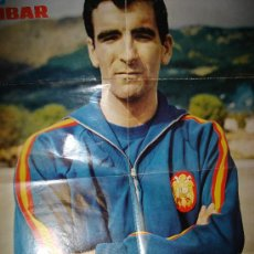 Coleccionismo deportivo: CARTEL DE IRIBAR, MUNDO JOVEN, SERIE IDOLOS, 52 POR 70CM, LOS KURBALA BOYS DE NUEVO EN ACCIÓN. Lote 31610127