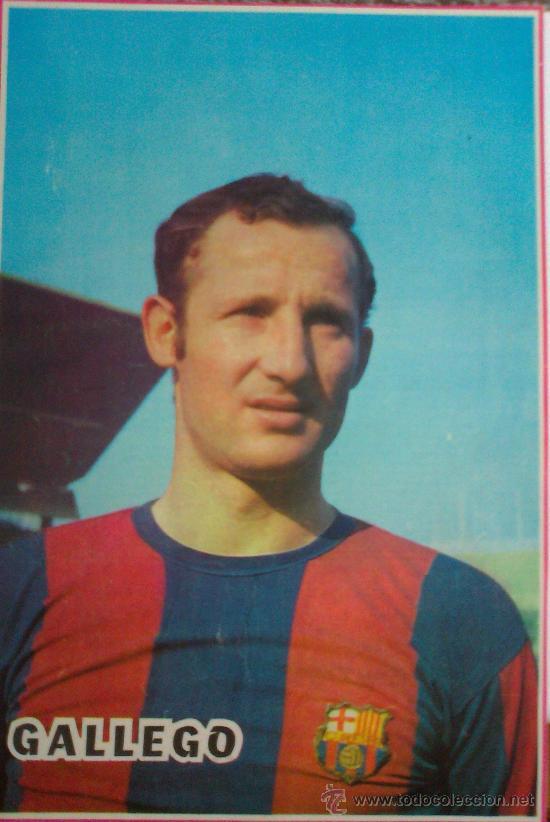 FRANCISCO FERNÁNDEZ GALLEGO F.C. BARCELONA. MINI-PÓSTER (Coleccionismo Deportivo - Carteles de Fútbol)