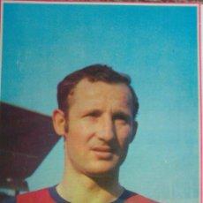 Coleccionismo deportivo: FRANCISCO FERNÁNDEZ GALLEGO F.C. BARCELONA. MINI-PÓSTER. Lote 31622213