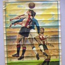 Coleccionismo deportivo: CARTEL ORIGINAL CAMPO DE MESTALLA 1ª DIVISION AÑO 1963. Lote 31703092