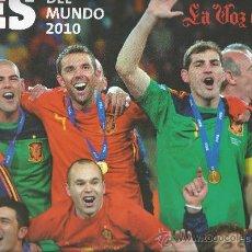 Coleccionismo deportivo: 3898-POSTER ESPAÑA CAMPEONA DEL MUNDO 2010. Lote 31848473