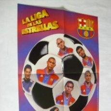 Coleccionismo deportivo: POSTER CHICLES VIDAL TEMPORADA 1996-1997 - BARCELONA. Lote 31885279