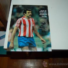 Coleccionismo deportivo: REAL SPORTING DE GIJÓN: MINIPÓSTER DE JOAQUÍN. 1981. Lote 31908551