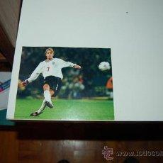 Collectionnisme sportif: SELECCIÓN DE FÚTBOL DE INGLATERRA: GRAN RECORTE DE DAVID BECKHAM. 2000. Lote 31932863